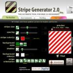 [Photoshop]StripeGeneratorで簡単にストライプパターンが作れる